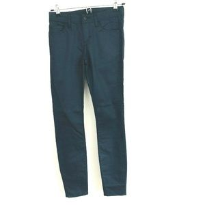 Armani Exchange Super Skinny Coated Jeans